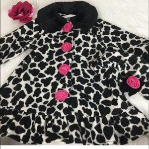 boutique Bonnie Baby Girl Coat Sz 18M